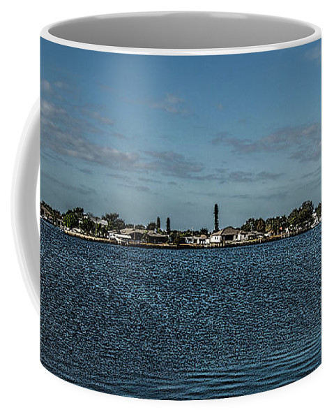 Florida Coffee Mug featuring the photograph Port Charlotte Beeney Water Way From Beeney by Don Kerr