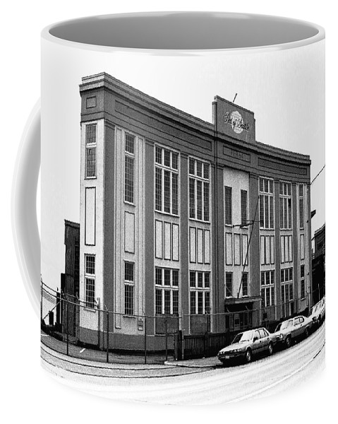 Building Coffee Mug featuring the photograph Port Of Seattle by Karen Ulvestad