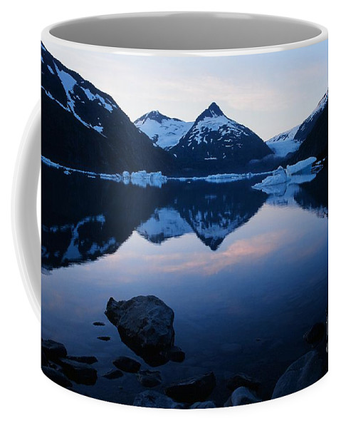 Portage Lake Coffee Mug featuring the photograph Portage Lake by Ronnie Glover