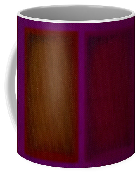 Rothko Coffee Mug featuring the painting Portal by Charles Stuart