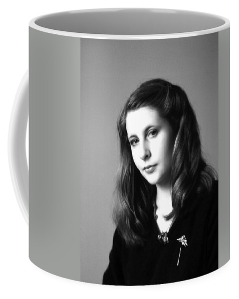 Portrait Coffee Mug featuring the photograph Portland Woman by Lee Santa
