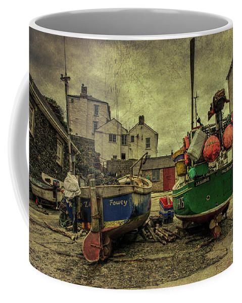 Portloe Coffee Mug featuring the photograph Portloe Boats by Rob Hawkins
