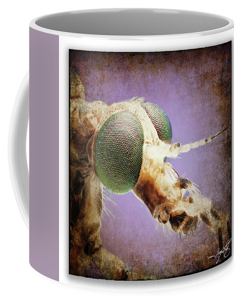 Ragonfly Coffee Mug featuring the photograph Portrait 12 by Ingrid Smith-Johnsen