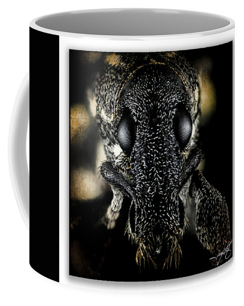 Ragonfly Coffee Mug featuring the photograph Portrait 13 by Ingrid Smith-Johnsen