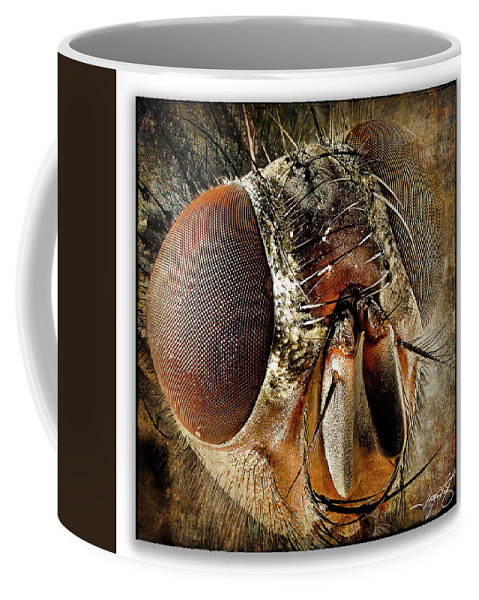 Ragonfly Coffee Mug featuring the photograph Portrait 15 by Ingrid Smith-Johnsen