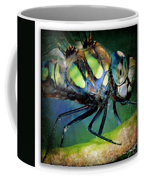 Ragonfly Coffee Mug featuring the photograph Portrait 21 by Ingrid Smith-Johnsen