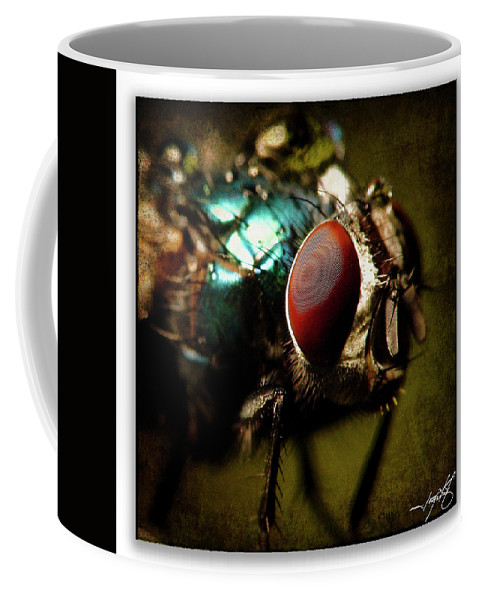 Ragonfly Coffee Mug featuring the photograph Portrait 23 by Ingrid Smith-Johnsen
