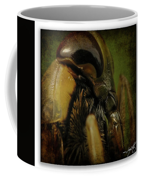 Dragonfly Coffee Mug featuring the photograph Portrait 5 by Ingrid Smith-Johnsen