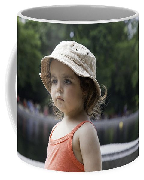Young Coffee Mug featuring the photograph Portrait Of A Young Girl by Madeline Ellis