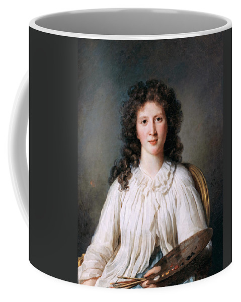Marie Bouliard Coffee Mug featuring the painting Portrait Of Adelaide Binart by Marie Bouliard