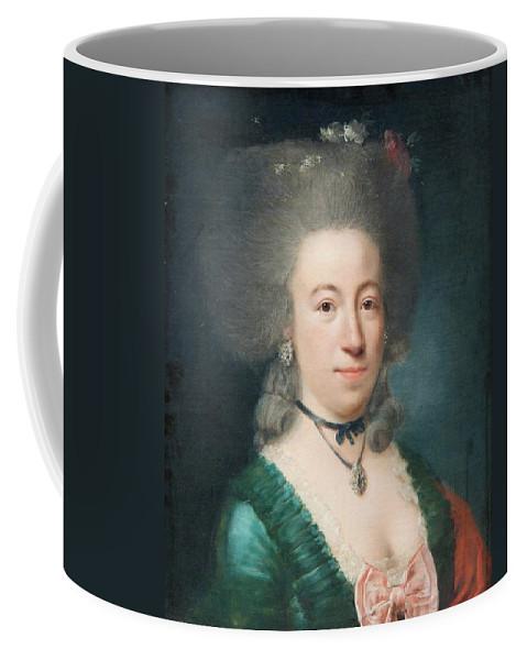Portrait Of Countess Sparre Coffee Mug featuring the painting Portrait Of Countess Sparre by MotionAge Designs