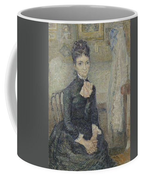 Beautiful Coffee Mug featuring the painting Portrait Of Leonie Rose Charbuy-davy Paris March April 1887 Vincent Van Gogh 1853 1890 by Artistic Panda
