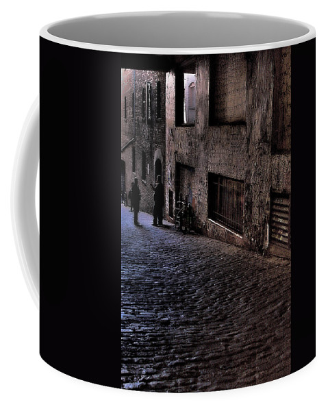 Hdr Coffee Mug featuring the photograph Post Alley IIi by David Patterson