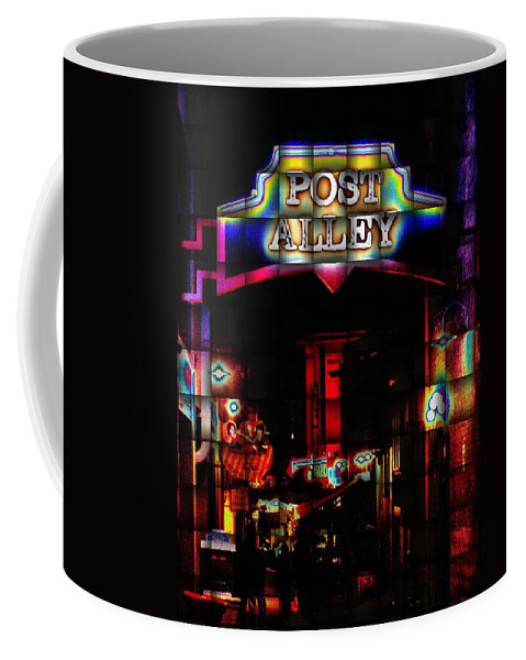 Seattle Coffee Mug featuring the photograph Post Alley Weave by Tim Allen