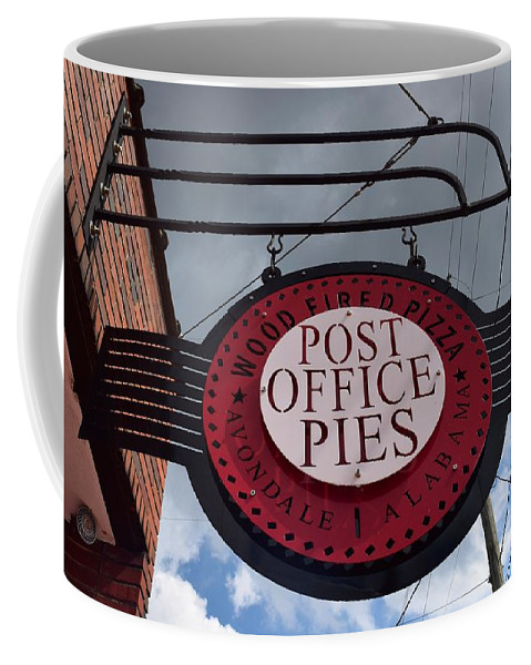 Post Office Pies Coffee Mug featuring the photograph Post Office Pies by Timothy Smith