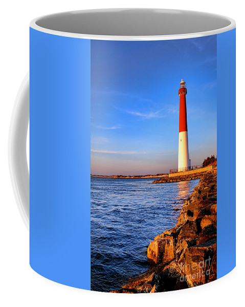 New Coffee Mug featuring the photograph Postcard From Barnegat by Olivier Le Queinec