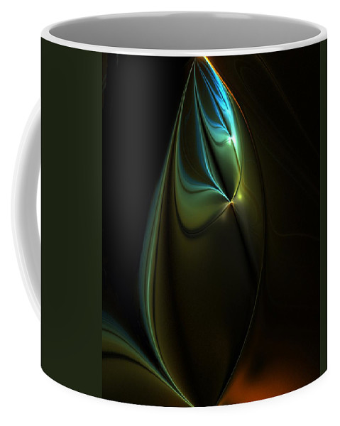 Digital Painting Coffee Mug featuring the digital art Potential Moment by David Lane