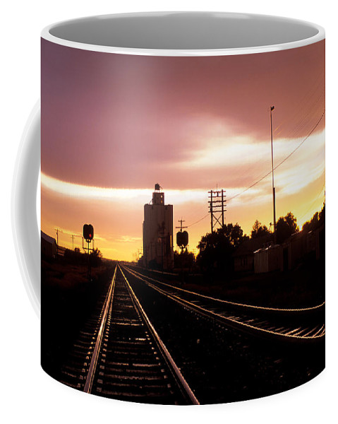 Potter Coffee Mug featuring the photograph Potter Tracks by Jerry McElroy