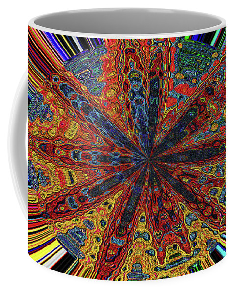 Power Flower Coffee Mug featuring the photograph Power Flower by Tom Janca