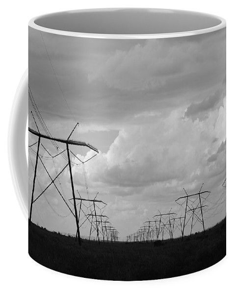 Sky Coffee Mug featuring the photograph Power In The Sky by Rob Hans