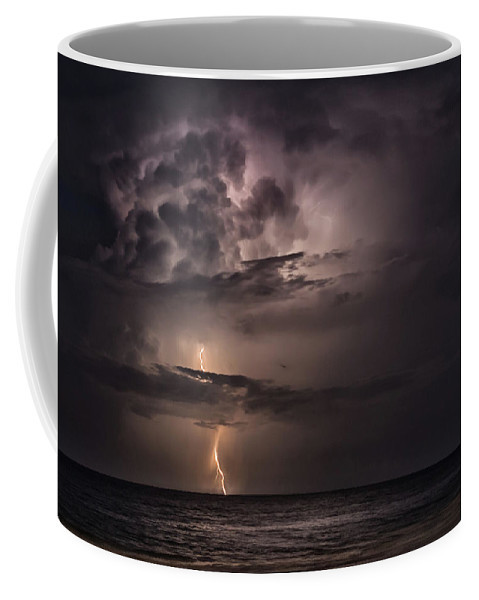 Lightning Coffee Mug featuring the photograph Power by Michael Thames