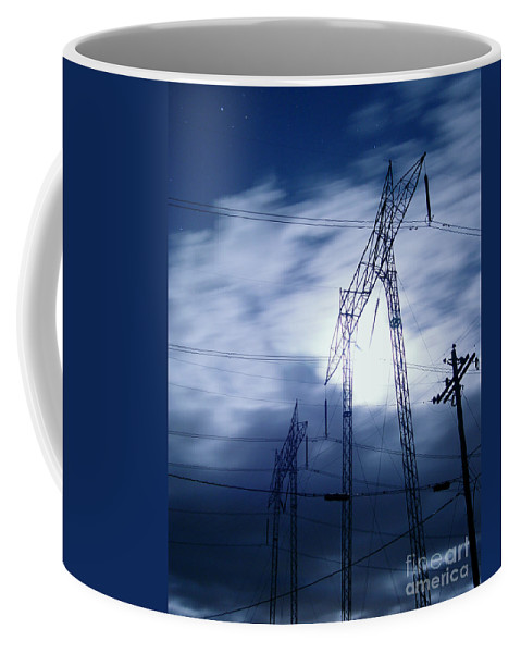 Clouds Coffee Mug featuring the photograph Power Surge by Peter Piatt