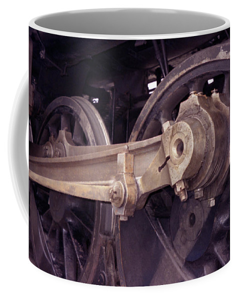 Trains Coffee Mug featuring the photograph Power Train by Richard Rizzo