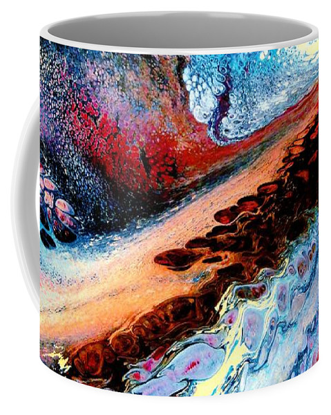Energy Coffee Mug featuring the painting Powerful Force by Natalie Holland