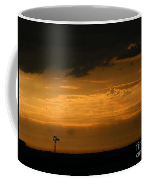 Storms Coffee Mug featuring the photograph Prairie Storm by Marilyn Smith