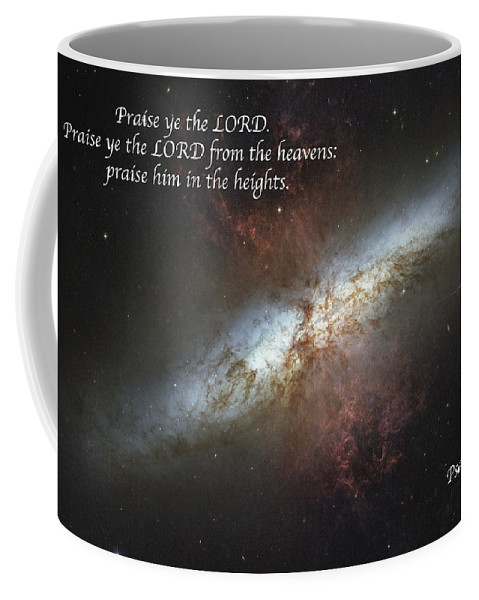 Space Coffee Mug featuring the photograph Praise Him From The Heavens by Michael Peychich
