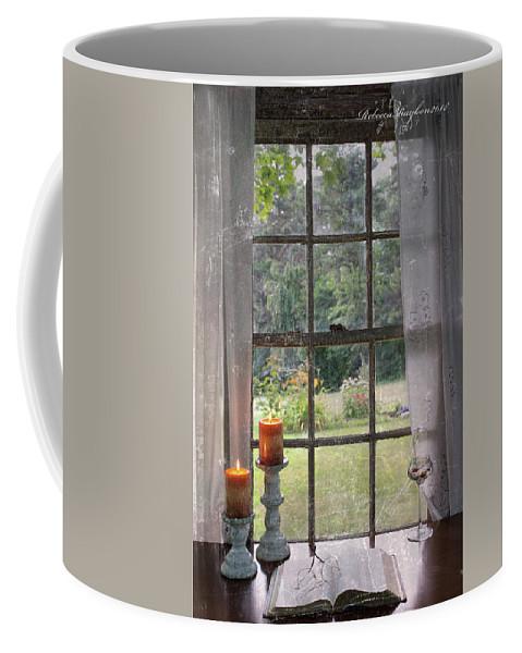 Window Coffee Mug featuring the photograph Praying For Peace by Rebecca Raybon