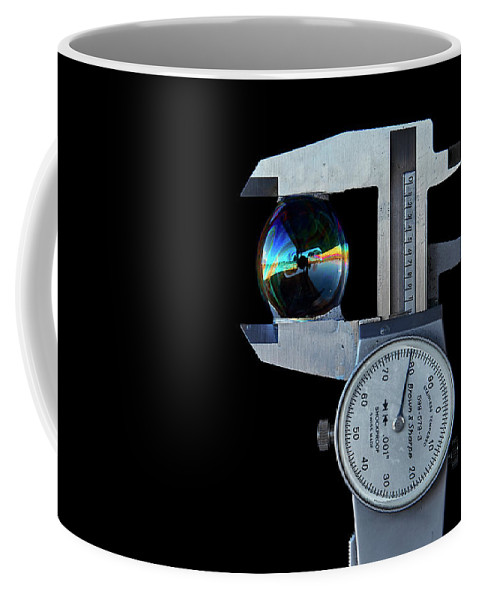 Bubble Coffee Mug featuring the photograph Precision Only A Machinist Can Appreciate. by David Hayden