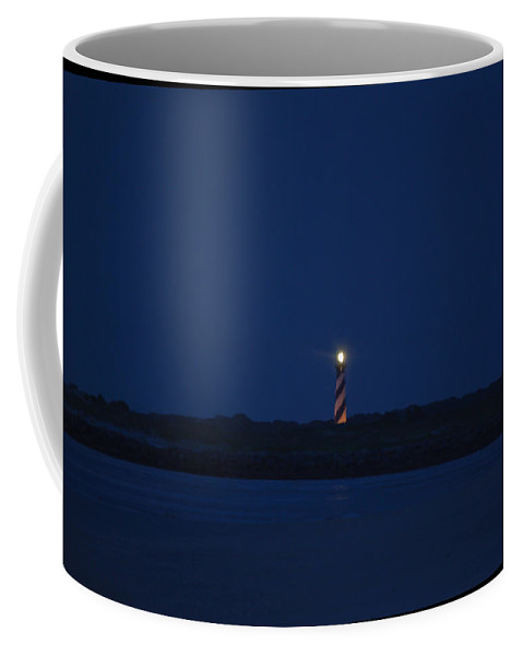 Night Coffee Mug featuring the photograph Predawn At The Matanzas Inlet by Kenneth Albin