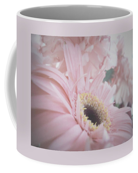 Pink Flowers Coffee Mug featuring the photograph Pretty In Pink by Mary Wolf