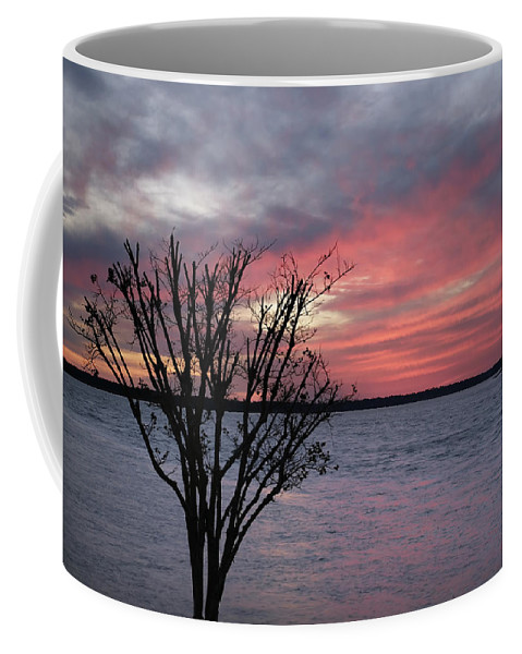 Sunset Coffee Mug featuring the photograph Pretty In Pink by Phill Doherty