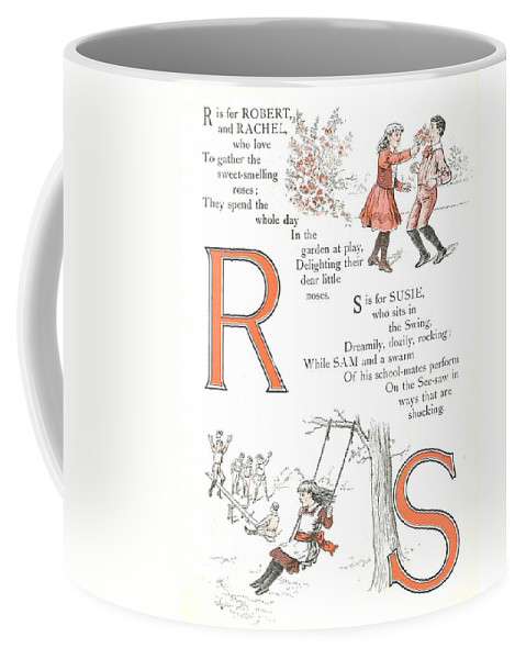 The Wurtherington Diary Coffee Mug featuring the painting Pretty Name Abc R And S by Reynold Jay