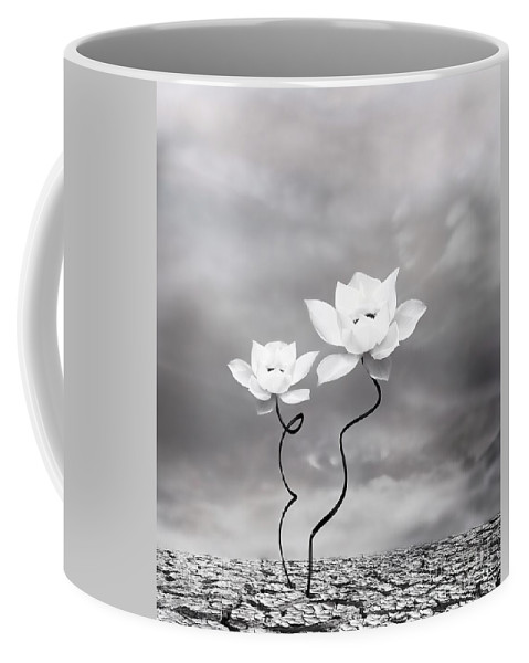 Surreal Coffee Mug featuring the photograph Prevail by Jacky Gerritsen