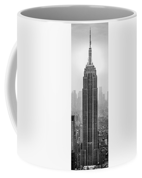 Empire State Building Coffee Mug featuring the photograph Pride Of An Empire by Az Jackson