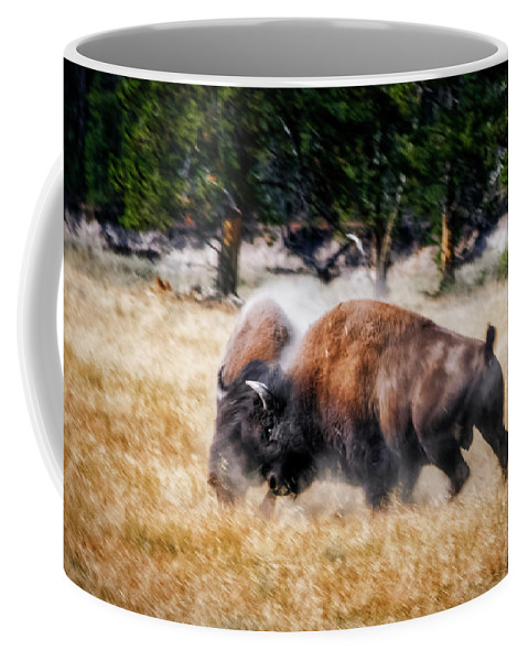 Aggression Coffee Mug featuring the photograph Primal by Rick Furmanek