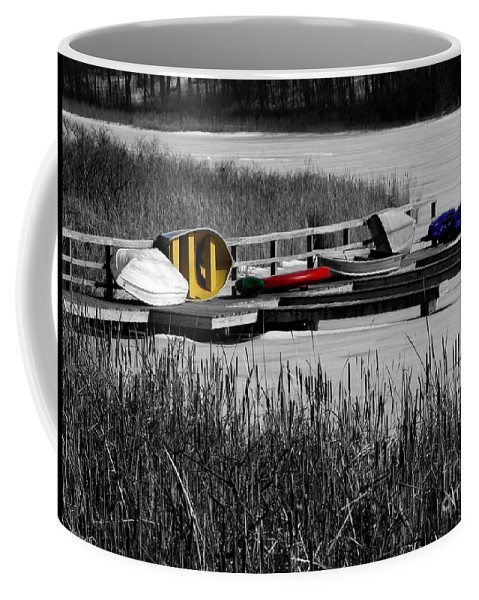 Yellow Coffee Mug featuring the photograph Primary Colors How Plain Life Could Be Without by September Stone