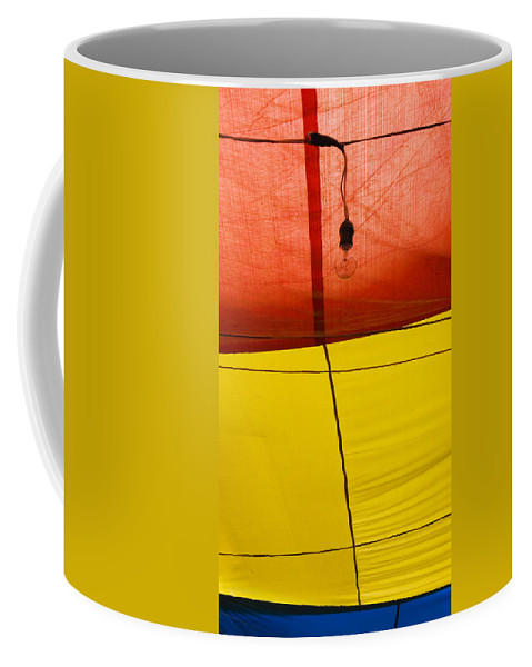 Bulb Coffee Mug featuring the photograph Primary Light by Skip Hunt