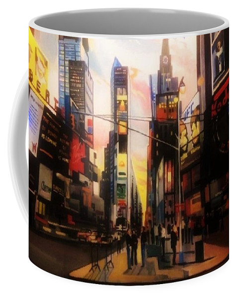 Coffee Mug featuring the painting Prime Time by Lisandro Rodriguez