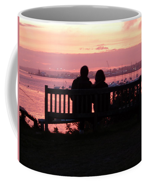 Evening Hill Coffee Mug featuring the photograph Evening Hill Sunset by Gordon James