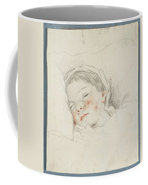 Prince Hoare Coffee Mug featuring the painting Prince Hoare The Baby by MotionAge Designs