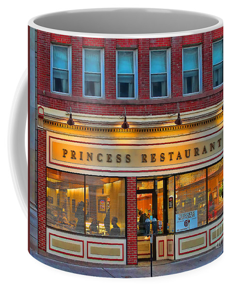 Princess Restaurant Coffee Mug featuring the photograph Princess Restaurant Frostburg Maryland 7615 by Jack Schultz