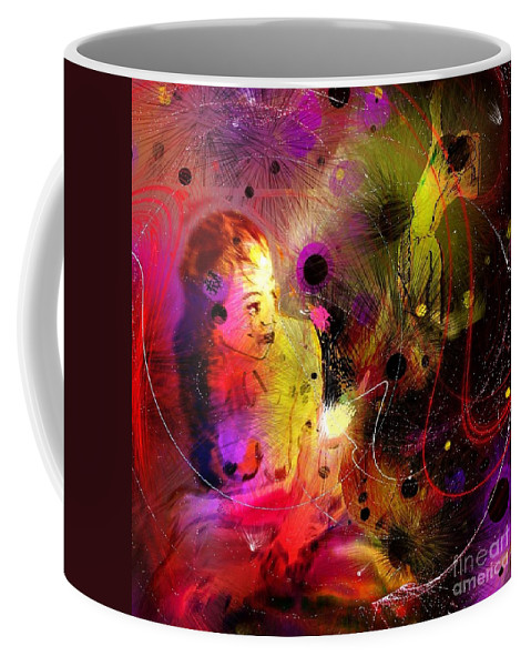 Nudes Coffee Mug featuring the painting Prisoner Of The Past by Miki De Goodaboom