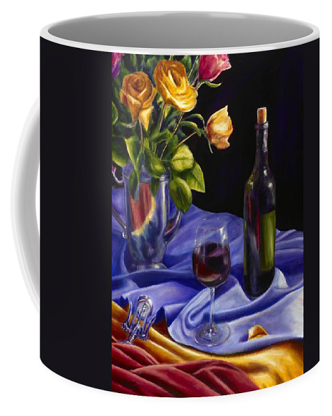 Still Life Coffee Mug featuring the painting Private Label by Shannon Grissom