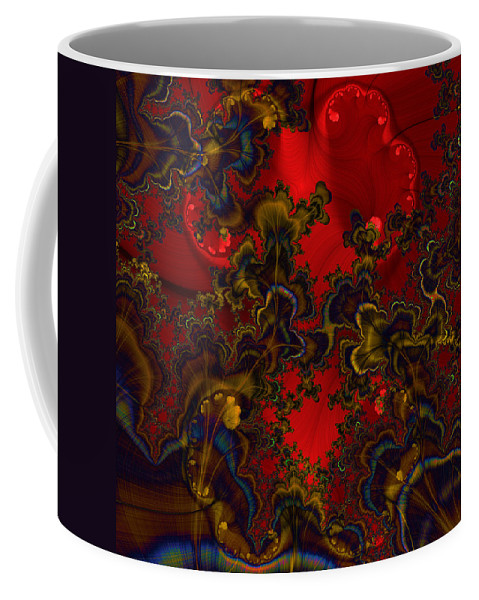 Graphic Art Coffee Mug featuring the digital art Prodigy by Susan Kinney