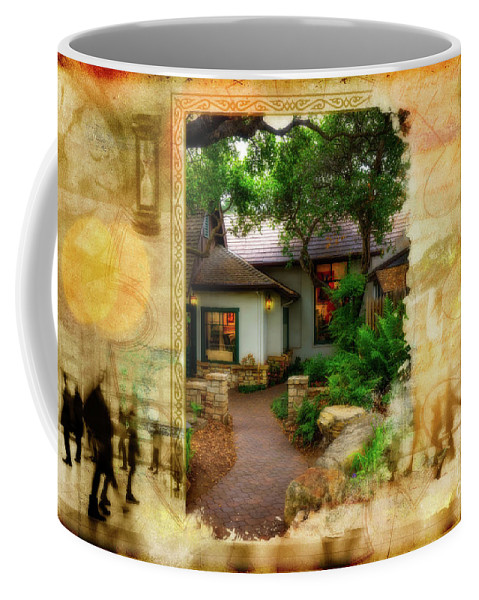 Fine Art Photography Coffee Mug featuring the photograph Promise of Home by John Strong