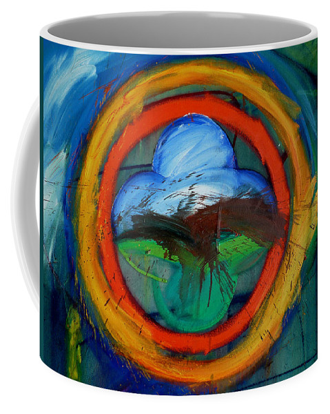 Landscape Coffee Mug featuring the painting Promised Land by Charles Stuart